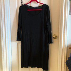 GAP LBD in comfy, sexy black knit